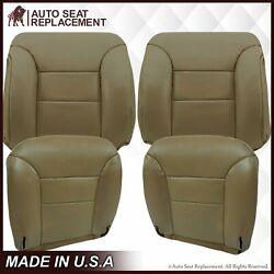1995 To 1999 Gmc Sierra And Chevy Tahoe Suburban Leather Seat Cover Tan