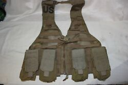 New Fighting Load Carrier Vest Coyote Tan Molle Usmc Load Bearing Vest Set Pouch