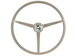 1965-66 Ford Mustang Steering Wheel Standard - Parchment