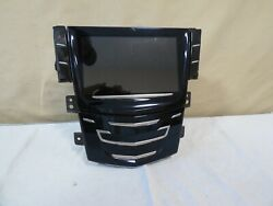 ✅ Cadillac 13-15 Xts 14 Cts Climate Gps Touch Screen Face Panel Oem Gm 84335845