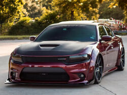 2015-2020 Dodge Charger Widebody Kit Demon Style Flares W/ Rear Diffuser 15 Pcs