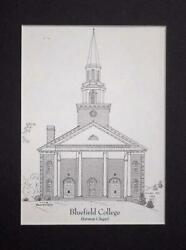 Bluefield College Graduation Gifts - matted print (Choose from 3 buildings)