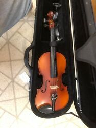 Becker 175 Prelude Series 4/4 Full Size Violin - Red-brown Satin
