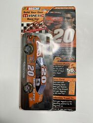 Vintage New Sealed Nascar Build Your Own Magnetic Racecar Tony Stewart Tin