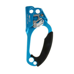 Hand Ascender Rope Clamp Arborist Rappelling Climbing Rigging Gear Blue Right