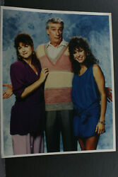 Kristy Mcnichol Empty Nest Cast Richard Moll - 8x10 Photo Print-vintage L1178e