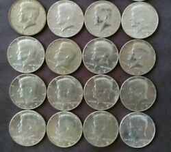 1965-1970 Kennedy Half Dollars 40 Silver, 1.50 Face Value As A Investment Coin