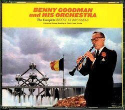 Sealed New Cd Benny Goodman And His Orchestra - The Complete Benny In Brussels