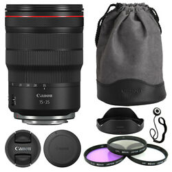 Canon Rf 15-35mm F/2.8l Is Usm Lens + Deluxe Accessory Kit