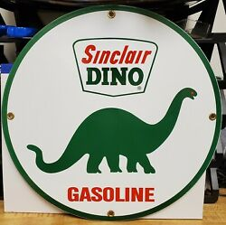 Vintage Gasoline Signs - Sinclair 'dino' Gasoline , Made In The U.s.a. Last One