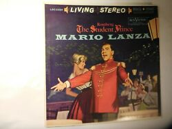 Romberg, The Student , Mario Lanza Red Label Rca Victor 1960