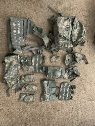 Molle Rifleman Full Kit With Main Pack And Assault Pack