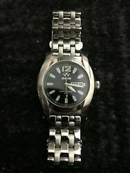 Reactor Curie Full Swiss Quartz Stainless Steel Dress Watch Colorsilver-toned