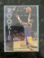 Kobe Bryant Rookie Basketball Card Topps Stadium Cub R9 In Protected Case