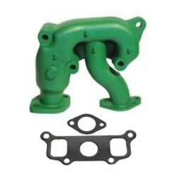 B2472r Exhaust Manifold With Gaskets Fits John Deere Late S/n Tractor Model B
