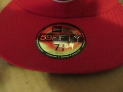 Lot Of 10 Vancouver Canadians New Era Authentic 59fifty Fitted Hat - New Red