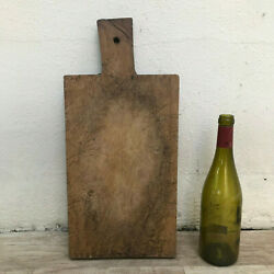 Antique Vintage French Bread Or Chopping Cutting Board Wood Thick 2801203