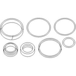 3484807m1 New Fits Massey Ferguson 4wd Tractor Steering Cylinder Seal Kit 340 35