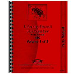 New Parts Manual For Farmall 450 Tractor