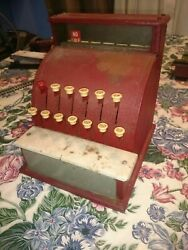 Antique Tom Thumb Cash Register Really Nice Condition. Fast Shipping