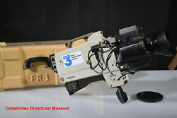 Rare Vintage Thomson Csf Ttv 1603p Video Broadcast Camera From France 3 Channel
