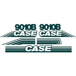 Whole Machine Decal Set Fits Case Excavator 9010b Ns New Style