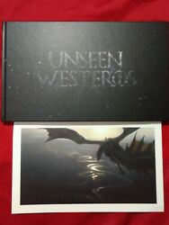 Unseen Westeros - Game Of Thrones - Signed Autographed Artbook - Rare - Limited