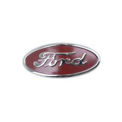 8n-16600-a Fits Ford Script Hood Emblem For 1948-1952 Fits Ford Tractor 8n