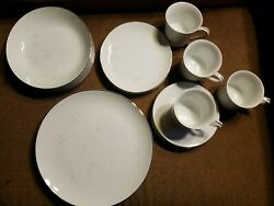 Celebrity Fine China Bridal Rose 1976 4 Piece Place Setting Perfect Condition