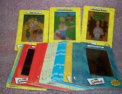 The Simpsons Series 1 One Filmcardz  Complete Trading Card Set  Artbox