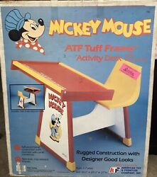 Vintage Disney American Toy And Furniture Company Activity Desk Factory Sealed