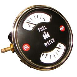 Gauge For International Farmall Tractor 66 756 826 856 1256 Some 86 Series