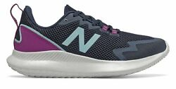 New Balance NB Ryval Run Womens Shoes Navy with Purple