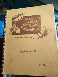 Vintage Value Guide To Antique Oak Furniture By Conover Hill Rare Antiques Book