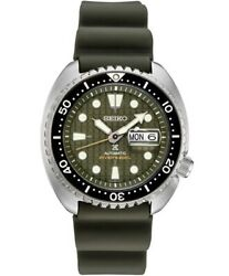 New Seiko Automatic Prospex King Turtle Divers 200m Menand039s Watch Srpe05