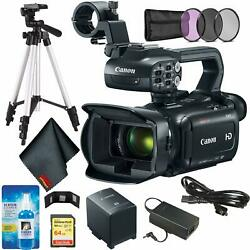 Canon XA11 Compact Full HD Camcorder Bundle w 64GB Memory Card + Wallet