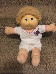 Vintage Cabbage Patch Doll, Zachary Ernie