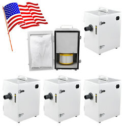 5x 370w Portable Dental Industry Digital Dust Collector Catcher Vacuum Cleaner