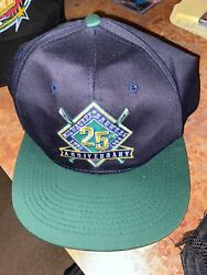 Vintage Milwaukee Brewers Snap Back Hat 25th Anniversary New Without Tags Sga