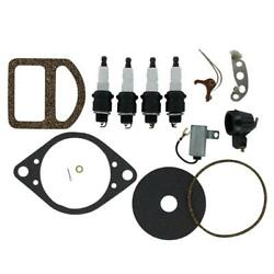 Ignition Tune Up Kit Fits Ford 9n 2n And 8n Tractor With A Front Mount Distributor