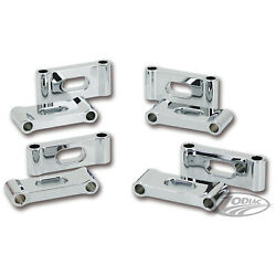 Zodiac Cs-z090636 Fender Spaces Trapdoor Front 1 1/4 In. Thick Chrome Pair