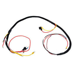 Fits Ford 8n Tractor Wiring Harness Front Mount Distributor 6 Volt 86606459 8n14