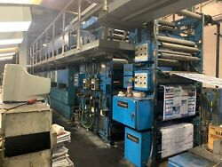 GOSS G18 5 Unit Web Printing Press System 1998 - Currently Running