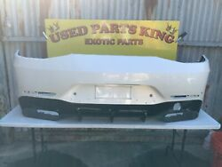 2018 2019 Mercedes Amg Gt Coupe W290 Rear Bumper Cover Oem