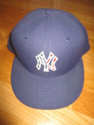 New Era New York Yankees Size 7 1/2 Cap Flag Red White And Blue Stars And Strips