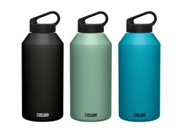 Camelbak Carry Cap Vacuum Insulated Stainless Steel Drink Bottle Flask 1.9l/64oz