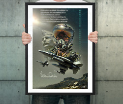 Pixaero Poster 'robin Olds' By Peter Van Stigt A2 Wall Poster Unframed