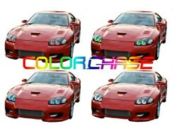 Color Chase Led Headlight Chasing Halo Kit For Dodge Stealth 94-98