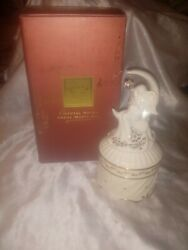 Lenox For The Holidays Crystal Notes Angel Music Box 7 Plays Hark The Herald