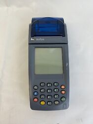 Verifone Nurit 8020 Wireless Credit Card Terminal Used Chip Reader Sign Pen